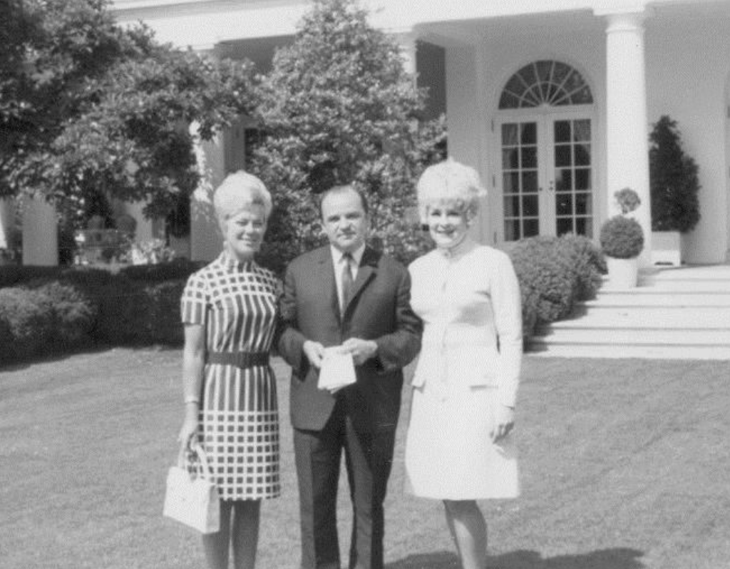 Grigoriev at the White House 1971