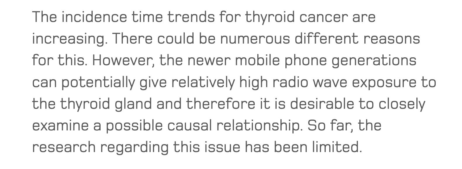SSM Thyroid Cancer Research