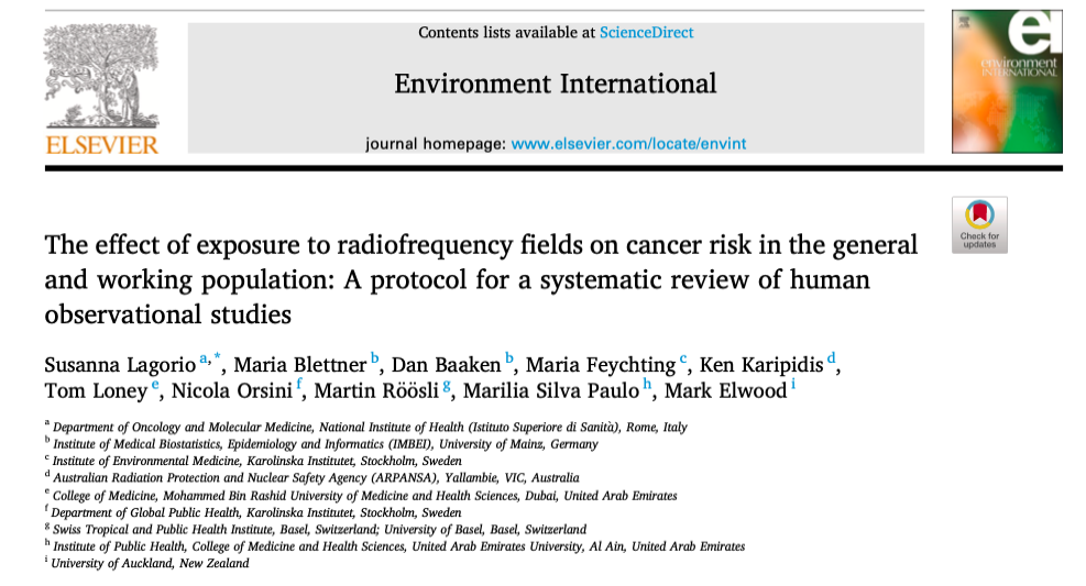 RF Systematic Review Environment Interntational 2021