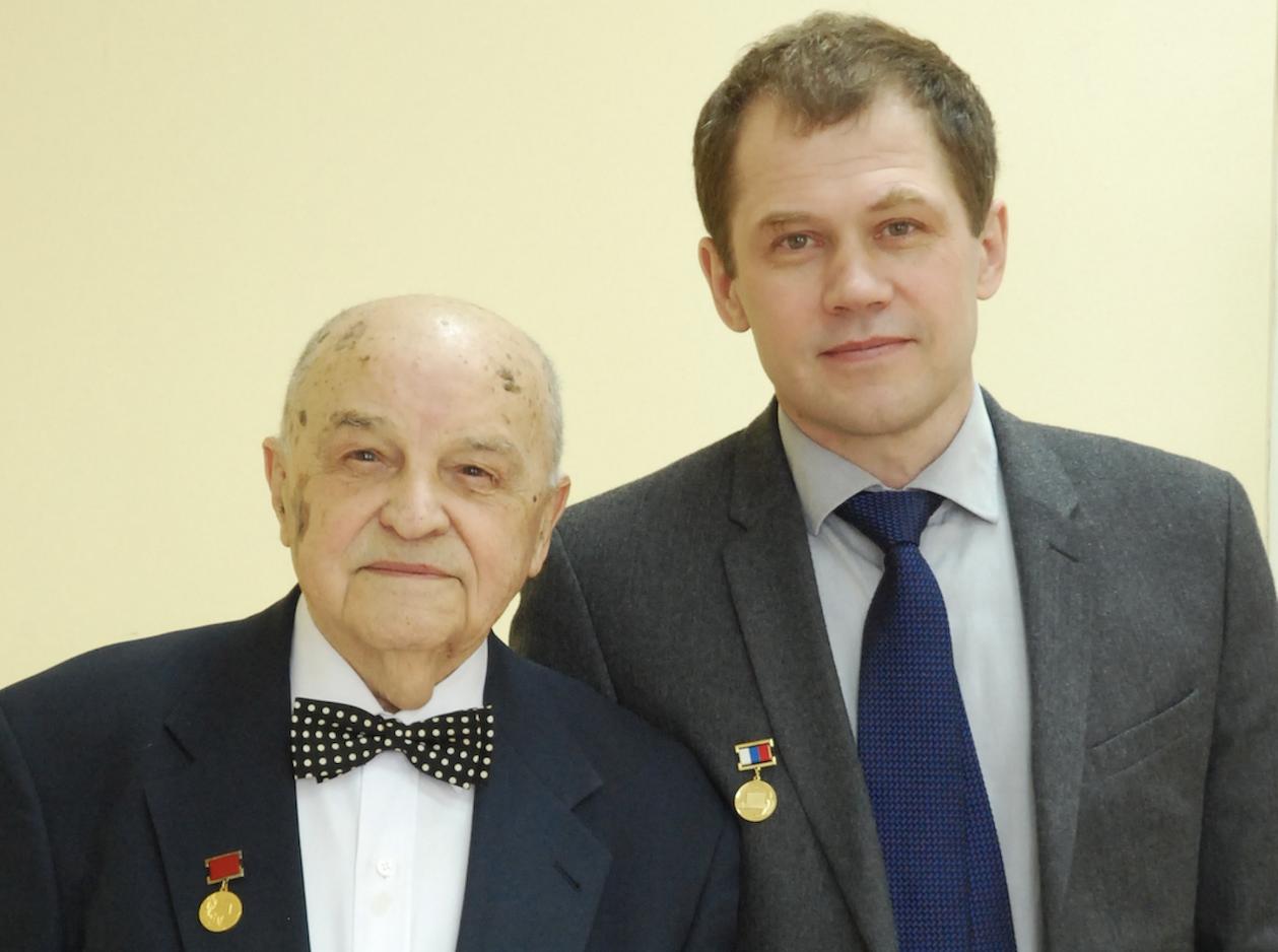 Yuri Grigoriev and Oleg Grigoriev in 2015